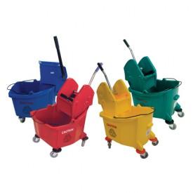 36L Plastic Bucket & Wringer