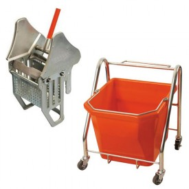 25L Single Bucket & Wringer