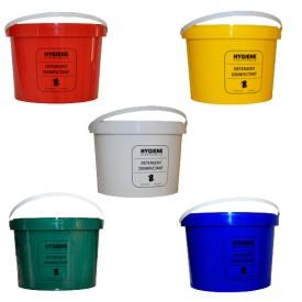 5L Pre-Printed Plastic Buckets