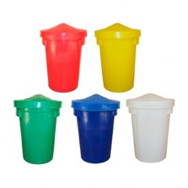 85L Plastic Dustbin / Storage Bin